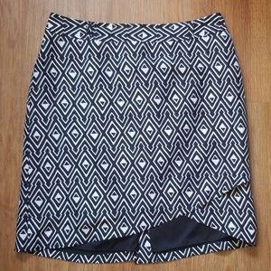 WHBM silk skirt